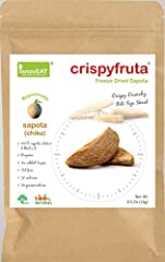 Ready to Eat Snack - 100% Sapota Fruit Organic No added Sugar, Preservatives, Color, Flavor Great tasting fruit snack for everybody Contents: Pack of 4
