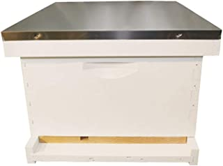 Complete Bee Hive Kit, Painted, Assembled, 10-Frame, Made In The USA