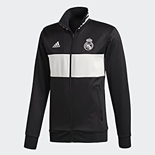 adidas real madrid black track jacket