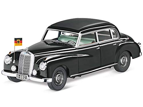 Mercedes 300 (W186) Staatslimousine Adenauer, schwarz , Modellauto, Fertigmodell, Norev 1:18