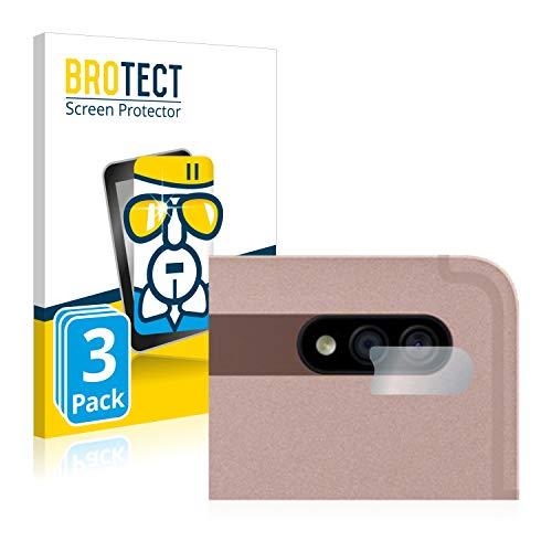 BROTECT Protector Pantalla Cristal Compatible con Samsung Galaxy Tab S7 Plus WiFi 2020 (SÓLO Cámara) Protector Pantalla Vidrio (3 Unidades)