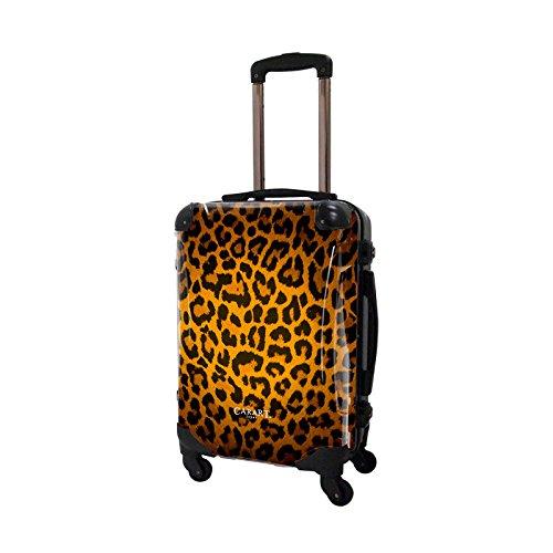 [キャラート] アート スーツケース 機内持込可 保証付 31L 57cm 3.2kg CRA01H-003A ゴールド ゴールド