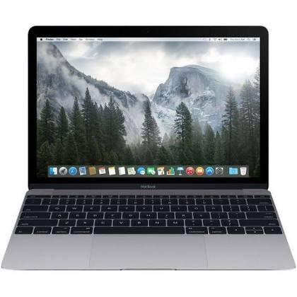 Apple MacBook Retina Display 12 Inch Core M-5Y31 1.1GHz 8GB RAM 256GB SSD - Space Gray (Renewed) Hawaii