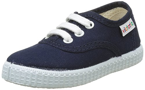 Victoria Inglesa Lona, Zapatillas Unisex Adulto, Azul (Marino 30), 20 EU