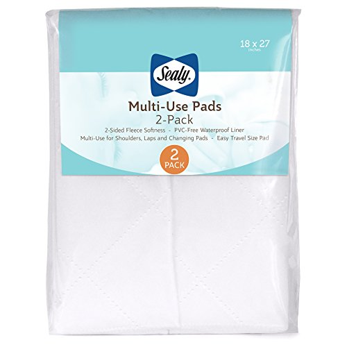 Multi-Use Quilted Fleece Pads, 2 Piece by Sealy