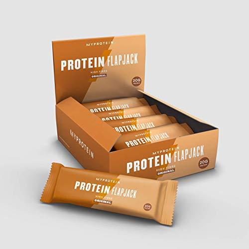 MyProtein Barras y Bebidas Nutritivas, Sabor Avena Tradicional - Paquete de 12 x 80 gr - Total: 960 gr