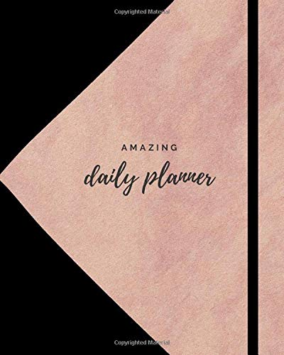 amazing daily planner: Daily planner for helth & time management contains   your daily water intake, meal plan , fitness plan, hourly schedule to ... what to do, what to buy, tomorrwo notes