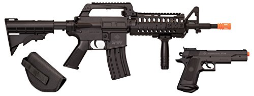Crosman 50030 Elite Front Line Force Airsoft Rifle and...