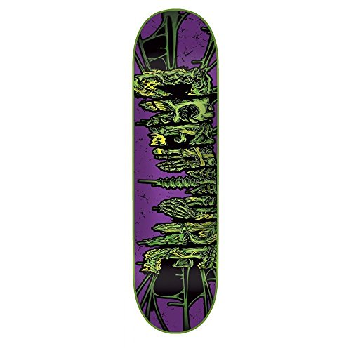 Creature Skateboard-Brett/Deck-Catacombs 19.81 cm, lila