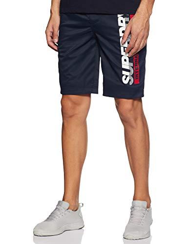 Superdry Herren Boardshort Shorts, Blau (Darkest Navy 49P), XL