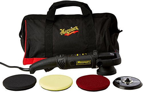 Meguiars Professional Dual Action Polisher (inkl. Backing Plate & Pads DFC5/DFP5/DFF5)