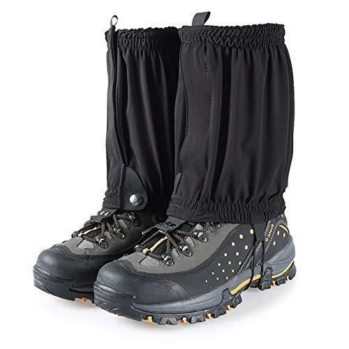 CFHY Snow Gaiters Hiking Gaiters Waterproof Ankle Gaiters Lightweight Leg Gaiters Low Gators Walking Trekking Hiking Boots for Climbing Hunting Mountain Snow 828