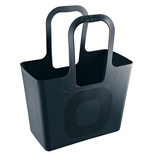 Koziol Tasche XL, Kunststoff, solid schwarz, 21,5 x 44 x 54 cm