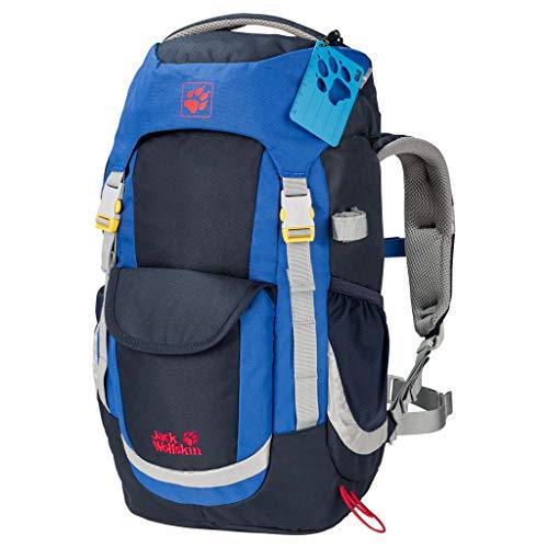 Kinderrugzak voor dagtochten, wandelrugzak voor kinderen vanaf 6 jaar, met comfortabele pasvorm, 20 l rugzak voor kinderen met zitmat
