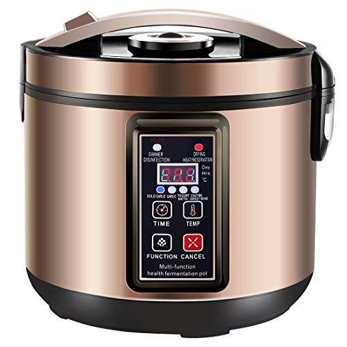6L Black Garlic Fermenter, Kimchi machine,Sweet Rice Wine Maker Full Automatic,Natto Maker,Yogurt Pot - MLGB
