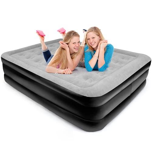Materasso Gonfiabile Matrimoniale, può Sopportare il Peso di Due Adulti, 203 * 152 * 52 cm, Grande...