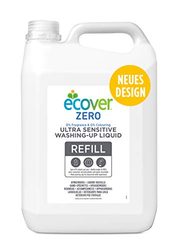Ecover Zero Washing Up Liquid Refill, 5L