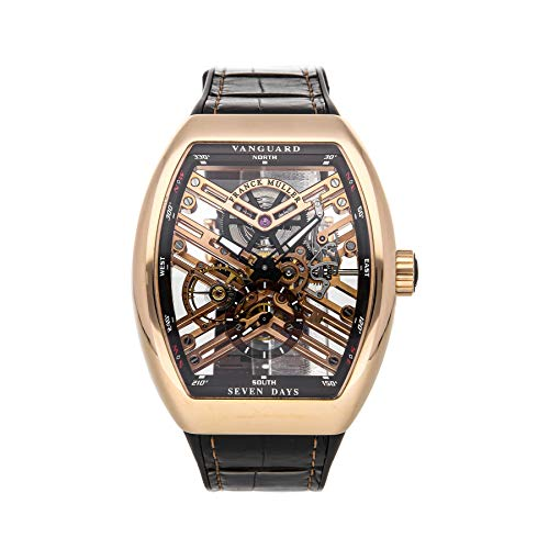 Franck Muller Vanguard Mechanical (Automatic) Skeletonized Dial Mens Watch V45 S6 SQT 5N (Certified Pre-Owned)