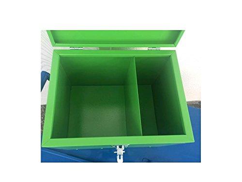 Pferde-Putzbox grün; Putzkiste für Pferde; Pferde-Putzbox; Putzkiste; Putzkasten; Alu-Putzbox, für Reiter und Ihre Pferde entwickelt - 6