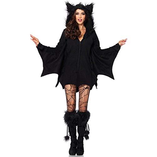 SPFTOY Frauen Superhelden Deluxe Batgirl, Große Größe Erwachsene Halloween Sexy Weibliche Batman Kostüm Cosplay Rollenspiel Uniform,Size-XXL