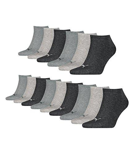 PUMA unisex sneaker sokken korte sokken sportsokken 261080001 15 paar