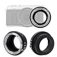 VBESTLIFE 耐久性 レンズアダプターリング 手動制御 ニコンGレンズ対応 富士X-PRO1 / X-E1 / X-E2ミラーレスカメラ対応