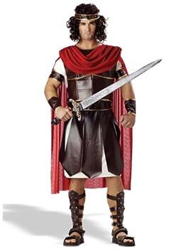Adult Hercules Costume Medium Brown