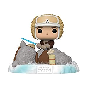Funko Pop! Deluxe Star Wars: Battle at Echo Base Series - Han Solo and Tauntaun, Amazon Exclusive, Figure 2 of 6 - 41XJmIFs84L - Funko Pop! Deluxe Star Wars: Battle at Echo Base Series – Han Solo and Tauntaun, Amazon Exclusive, Figure 2 of 6