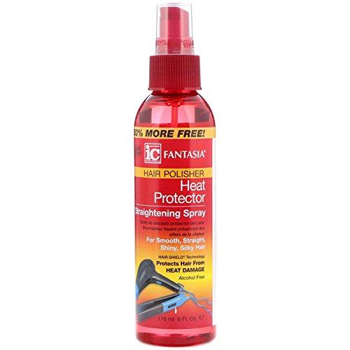 Fantasia Hair Polisher Heat Protector Straightening spray, 170,1gram