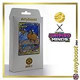 Raichu & Alolan Raichu-GX (Raichu et Raichu d'Alola-GX) 221/236 Full Art Alternative- #myboost X Sun & Moon 11 Unified Minds - Coffret de 10 Cartes Pokémon Aglaises
