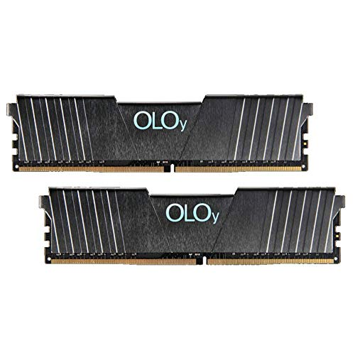 OLOy DDR4 RAM 16GB (2x8GB) 2666 MHz CL19 1.2V 288-Pin Desktop Gaming UDIMM (MD4U082619BGDA)