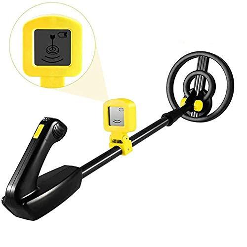 Vogvigo - Metall-Detektoren, wasserdicht Golddetektor, leichte Suchspule (88,9 cm-114,3 cm), verstellbarer Metalldetektor für Kinder und Jugendliche mit hoher Genauigkeit