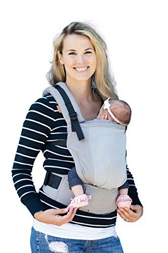 Baby Tula - Free-to-grow - Coast Overcast Marsupio regolabile per neonati, ergonomico 3,2-20,4 kg