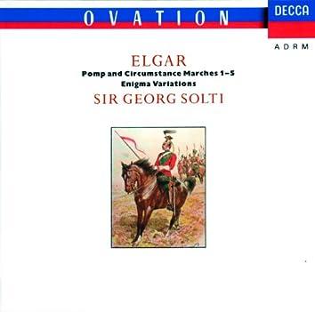 エルガー:エニグマ変奏曲、行進曲《威風堂々》、序曲《コケイン》
