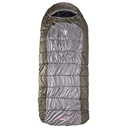 Another unusual design, the Coleman Big Basin Extreme Weather 15 Degree Fahrenheit Sleeping Bag has a hybrid shape somewhere between a mummy bag and a ...