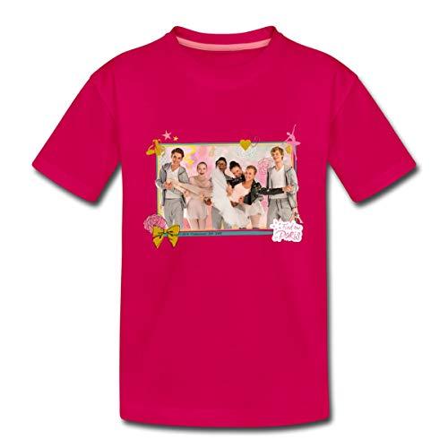 Find me in Paris Charaktere Teenager Premium T-Shirt, 146-152, Dunkles Pink
