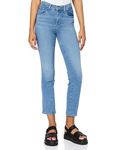 Levi's Damen 724 High Rise Straight Jeans