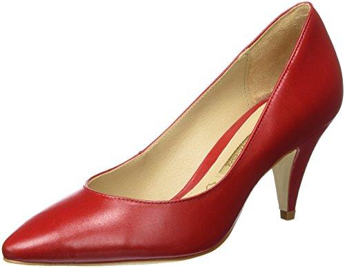 Buffalo London ZS 7446-16 Semi Cromo, Scarpe con Tacco Donna, Rosso (Red207), 39 EU