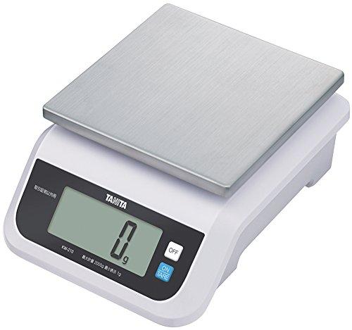 タニタ キッチンスケール はかり 料理 (取引証明以外用) デジタル 2kg 1g単位 KW-210 WH