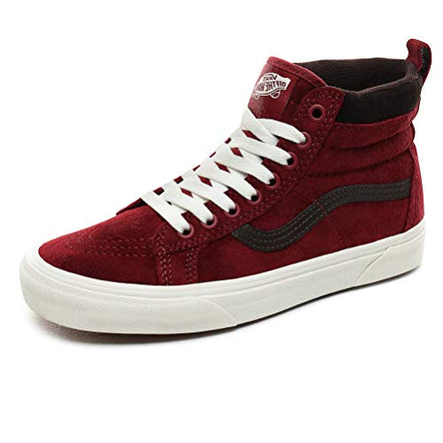 Vans SK8-HI MTE Sneakers Damen Bordeaux Sneakers Alte, Rot - Mte Bkng Rd Chocolatetrt - Größe: 35 EU