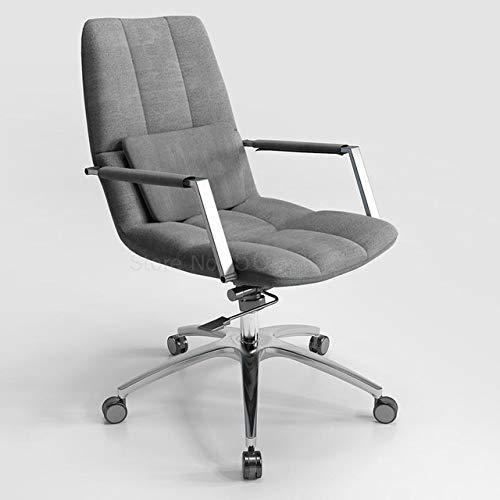 Computerstuhl Sitzend Bequemer Computerstuhl Einfacher Rotierender Chefstuhl BüRo Schreibtisch Studienstuhl BüRostuhl Heimgebrauch