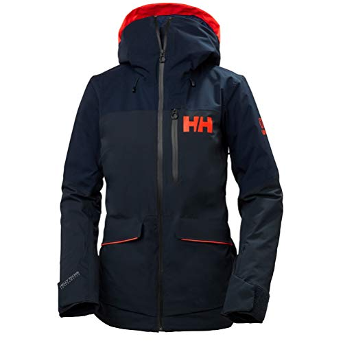 Helly Hansen Damen Powchaser Jacke, Navy, XL
