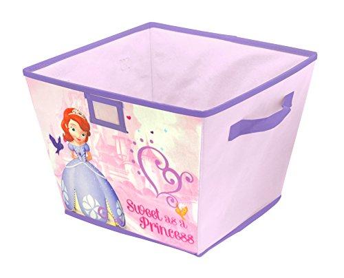 Disney Sofia The First Stackable Storage Bin, 10 x 12.5 x 13