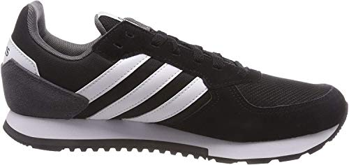 Adidas 8k, Zapatillas para Hombre, Negro (Core Black/FTWR White/Grey Five Core Black/FTWR White/Grey Five), 44 EU