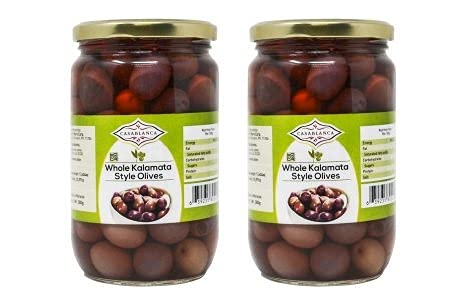 Casablanca Whole Kalamata Style Olives Max 46% OFF 2 OZ Fashionable Jars 25.397 380g
