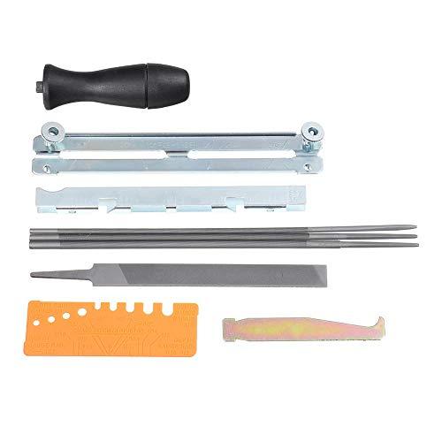 XCQ 10 stücke Kettensägenschärfendatei Ablagssatz Dateien Werkzeugkette Spitzer für Stihl Chian SAH langlebig 0325
