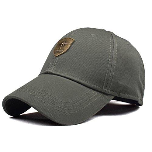 CACUSS Sombrero de golf deportivo estilo gorro de béisbol estructurado con cierre...