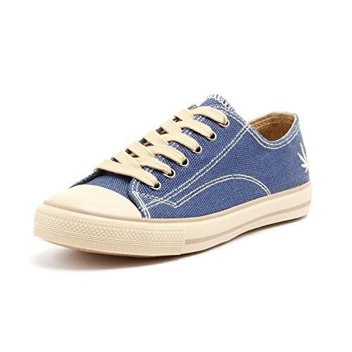 Grand Step Shoes Hanf Sneaker Marley (42 EU, Navy)
