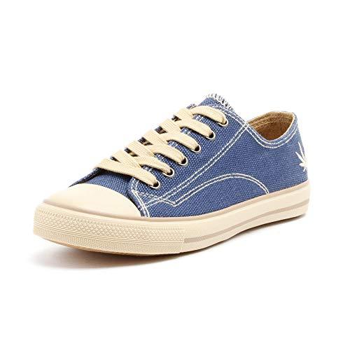 Grand Step Shoes Hanf Sneaker Marley (42 EU, Navy)