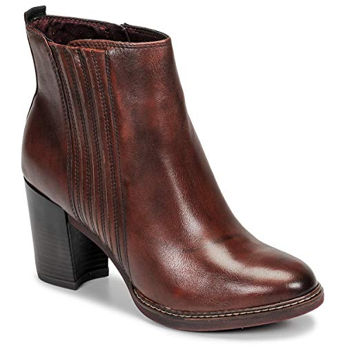 TAMARIS JOLY Enkellaarzen/Low boots dames Cognac Enkellaarzen